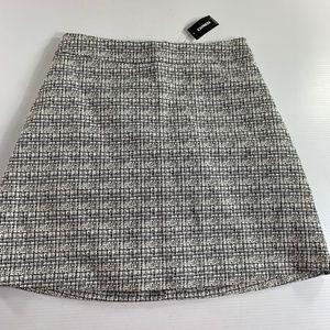 Express Skirt Size 8 Black White
